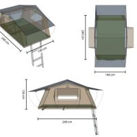 Roof Top Tent Dimensions